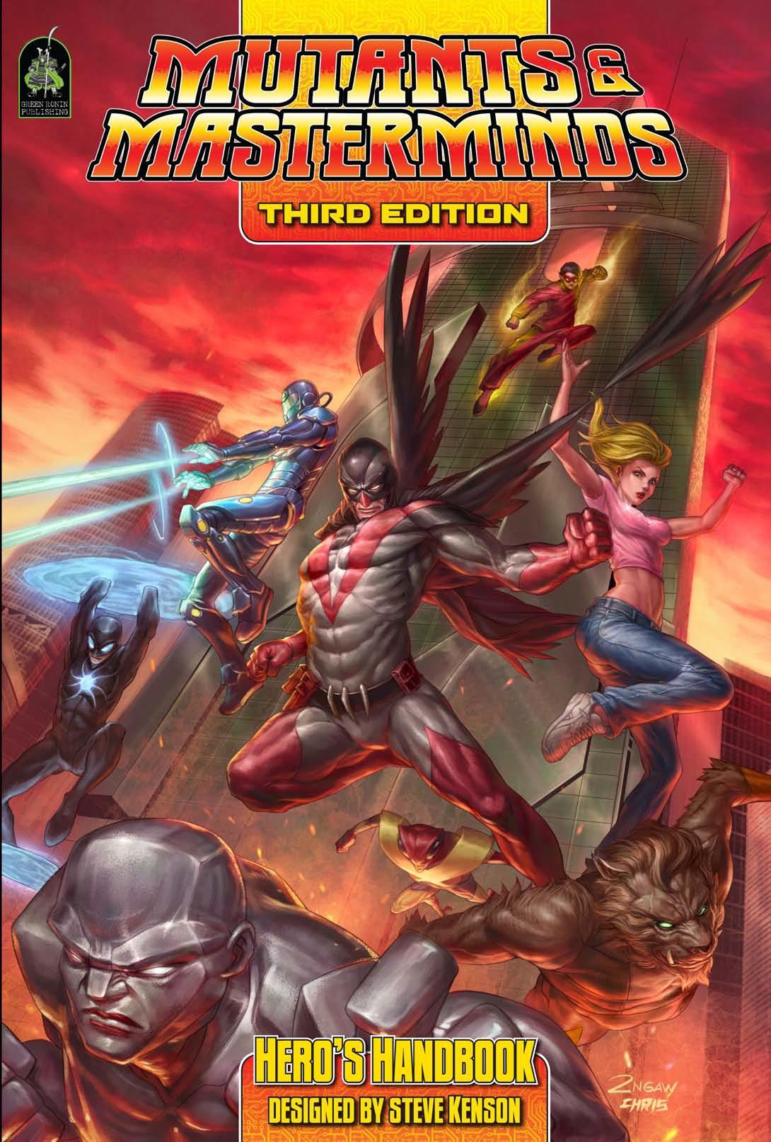 mutants and masterminds 3e pdf español