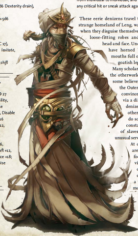 content identification - A Pathfinder creature from the Cthulhu