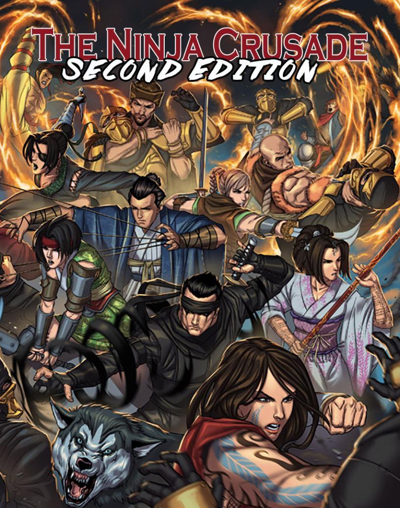 FATAL & Friends — Ninja Crusade: Second Edition