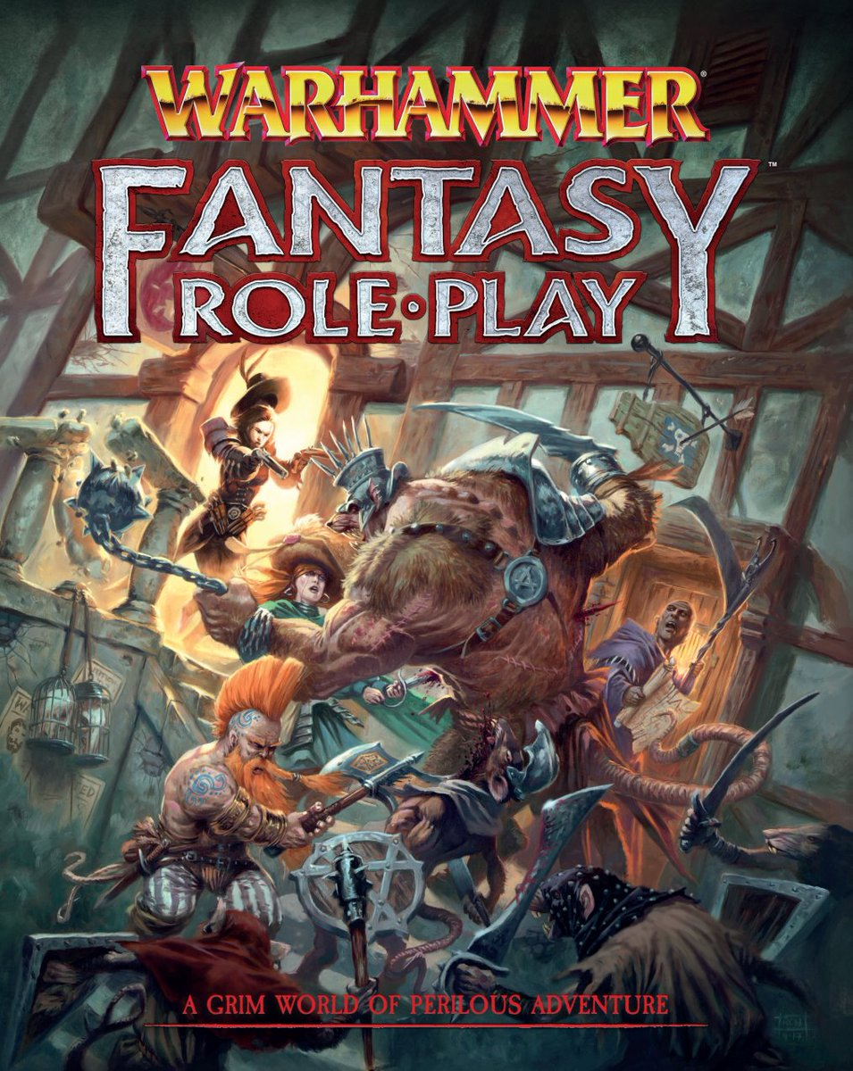 Fatal Friends Warhammer Fantasy Roleplay 4th Edition